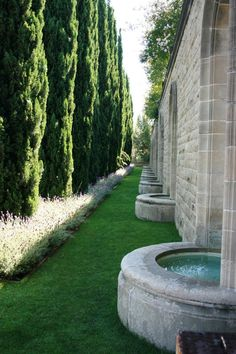 Explore the grounds of Greystone Mansion in Beverly Hills.
