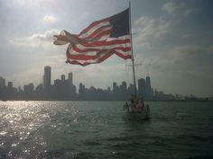American Sail boat