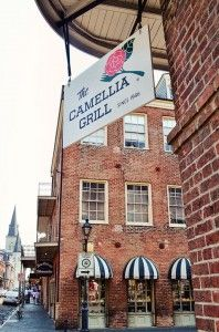 The Camellia Grill on Chartres St. in the New Orleans French Quarter - the original location is in Uptown NOLA
