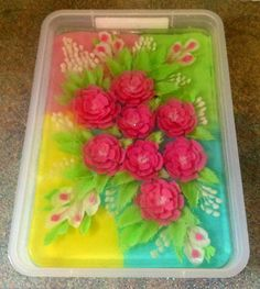 """Again,,,, jelly art ,,, Find me on Facebook """""""" Happy foody"""""""""""
