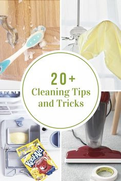 Life is busy, so I am always on the lookout for ways to save time, money and energy. Today, I have gathered a round up of Cleaning Tips and Tricks that is sure to do just that. Household Cleaning Schedule, Cleaning Items, House Cleaning Tips, Car Cleaning, Spring Cleaning, Cleaning Hacks, Household Tips, Cleaning Vinegar, Bathroom Cleaning