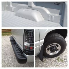 LINE-X XTRA Bed liner and LINE-X XTRA coating for the rear bumper and center wheel caps on our 2001 Dodge Ram 2500 Turbo Diesel
