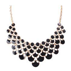 Newest Bib Fashion Openwork Statement Jewelry