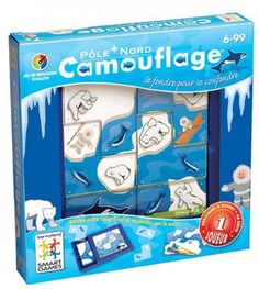 CAMOUFLAGE - POLE NORD (Smart Games)