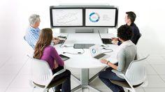 mediascape est une gamme complète de mobilier intégrant de la technologie et de solutions multimédias. Conçu pour faciliter la connexion multimedia et la collaboration, media:scape, favorise l'innovation tout en améliorant la productivité.