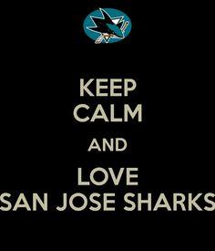 a5d0b25eef0 I can t keep calm! Rachel Spallina · San Jose Sharks