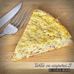 O combinatie apetisanta de legume proaspete, oua si verdeata! O delicioasa tarta aperitiv pe care o putem savura la micul deju... Veg Recipes, Bread, Meals, Cooking, Food, Pie, Vegetarian Recipes, Cuisine, Kitchen