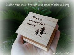 music box wedding music box gift for son what a by Simplycoolgifts