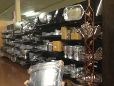 Pewter, Pewter.....go to facebook lancasterhousewholesale for more info