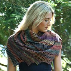 Brickless Shawl #pattern #intermediate