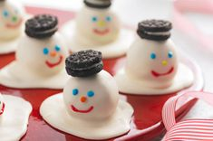 Melting Snowmen Cookie Balls - I'm going to make these!