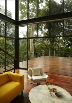 The Deck House / Choo Gim Wah Architect - House Design Inspiration - The Urbanist Lab Dream Home Design, Modern House Design, Home Interior Design, Interior Architecture, Interior And Exterior, Glass House Design, Design Interiors, House Interiors, House Deck