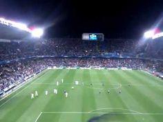 Gol Roque Santa Cruz Málaga vs Oporto 13-03-2013(video de un aficionado