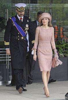 Felipe y Letizia, en Reino Unido en 2011, en la boda del príncipe Guillermo y Kate Middleton.