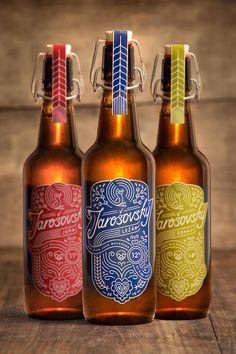 Jarosovsky beer - Design: Paweł Czyk, Mateusz Słowakiewicz