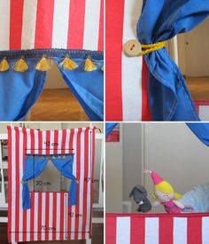 Crafts To Make, Fun Crafts, Diy Teepee, Punch And Judy, Puppet Show, Idee Diy, Camping Crafts, Hand Puppets, Diy For Kids