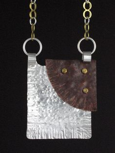Drunkard's Path Pendant by Wendy Edsall-Kerwin | Flickr - Photo Sharing!