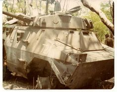 Unlucky SADF Ratel-90 during South African Border War. Army Day, Defence Force, Armored Vehicles, Armed Forces, Congo, Military Vehicles, South Africa, Civil Wars, African