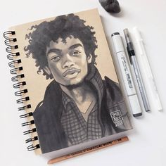 Strong and Relaxed Expressions in Portrait Drawings Portrait Drawings by Jordan Rhodes Boy Drawing, Painting & Drawing, Drawing Ideas, Pen Illustration, Illustrations, Cool Drawings, Pencil Drawings, Copic, Arte Sketchbook