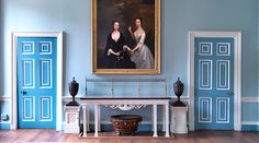 Kenwood House, the Iveagh Bequest, Robert Adam, English Heritage restoration of Photo: The Anglophile/London Connection Hampstead Heath, Hampstead London, Kenwood House, Glamour Decor, Georgian Interiors, Interior Architecture, Interior Design, English Heritage, Cottage