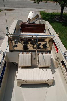 My Boston Whaler Newport. -Photo Credit © Jeff Rohlfing