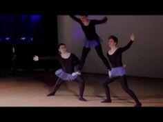 3 Miestä+ Baletti = .....
