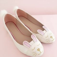 Mode Shoes, Bunny Slippers, Kawaii Dress, Bow Heels, Cat Valentine, Glass Slipper, Pretty Pastel, Happy Easter, Pastels