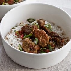 Slow Cooker Coconut Pork Curry
