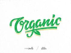 Organic lettering
