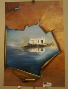 Greece Acrylic on canvas Artist: Lena Vaka