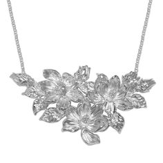 "Carved Magnolia 16"" Necklace from Arthur Court in Gainesvile, FL from Kitchen & Spice"