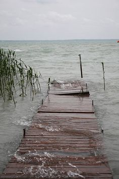 Balaton, Hungary   LOOKS LIKE LAKE MICHIGAN NEAR MUSKEGON, MI, WHERE I GREW UP. I MISS VISITING THERE!!!