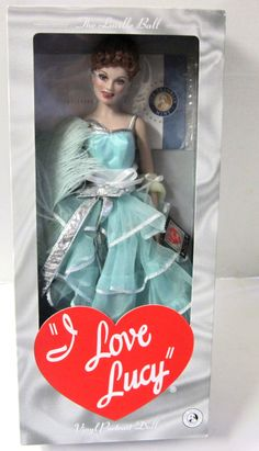 "Franklin Mint - I Love Lucy ""Gets in Pictures"" Episode 116 - Lucille Ball Doll"