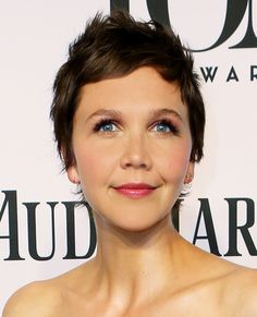 The Cutest Pixies, Crops and More Short Hairstyles - Maggie Gyllenhaal from #InStyle