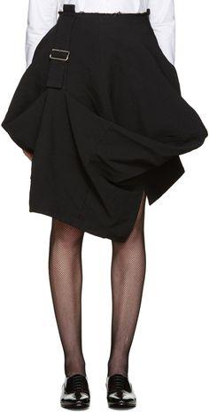 Comme des Garcons - black belted skirt - $830 CAD @ssense.com