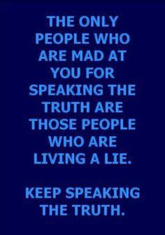 Live & Speak the Truth!