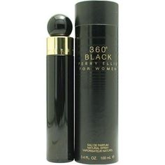 Perry Ellis 360 Black By Perry Ellis For Women. Eau De Parfum Spray 3.4 oz by Perry Ellis. $21.99. This item is not for sale in Catalina Island. Packaging for this product may vary from that shown in the image above. Launched by the design house of Perry Ellis.When applying any fragrance please consider that there are several factors which can affect the natural smell of your skin and, in turn, the way a scent smells on you.  For instance, your mood, stress level, age, b...