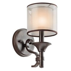 Master Bath Sconce? - Kichler Lighting 45281 Lacey Wall Sconce - Lighting Universe