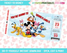 Printables   Disney