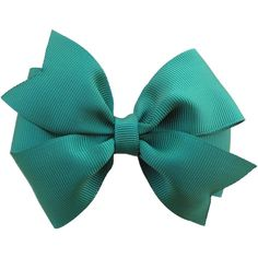 4 inch dark green hair bow - dark green bow, forest green bow (6.00 CAD) ❤ liked on Polyvore featuring accessories, hair accessories, bows, hair bows, bow hair accessories and ribbon hair bows