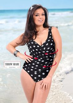 a648c88344 Classic One Piece Retro Swimwear