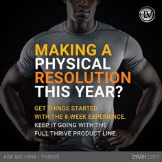 Want a better you!  The Thrive experience will change your life...  Sign up as a customer for free, Looking to make $ then join as a promoter for FREE.  Earn free products, make money and feel amazing!   http://meyoung.Le-Vel.com  #newyears #resolution