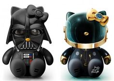 Daft Punk and Darth Vader Kitty