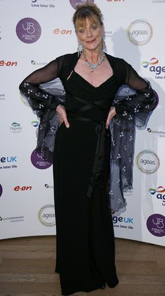 The name's Bond: Samantha Bond, looked glamorous as she arrived at the Natural History Museum in a black dress Claire Sweeney, Samantha Bond, Post Baby Body, Body Glitter, Silver Dress, History Museum, Natural History, Charity, Red Carpet
