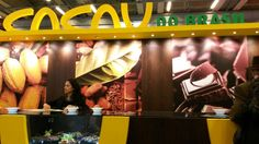 Salon du Chocolat 2014 - Lo stand brasiliano