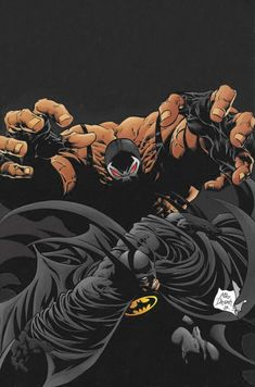 Batman: La Caída del Murciélago Nueva Portada Editada en Photoshop CS6