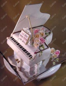 Music Themed Cakes, Music Cakes, Cupcakes, Cupcake Cakes, Beautiful Cakes, Amazing Cakes, Piano Cakes, Shoe Cakes, Fondant Tutorial