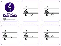 Foldable music note flash cards | Music bell ringers APL ...