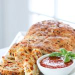 A Year of Yeast: Pizza Bread | Inspired by Charm