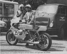 Moto Guzzi road racer - Cycle 08-1972